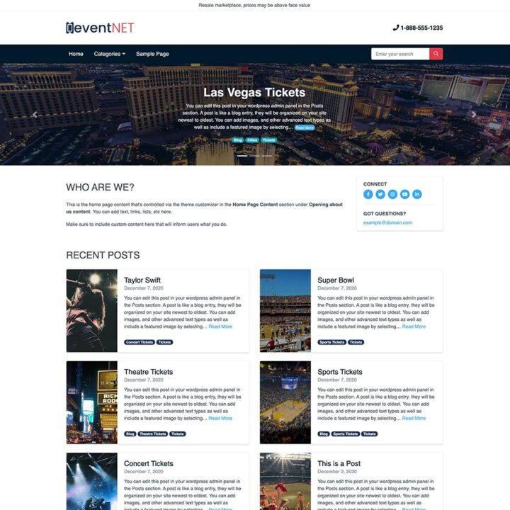Ace WordPress Template