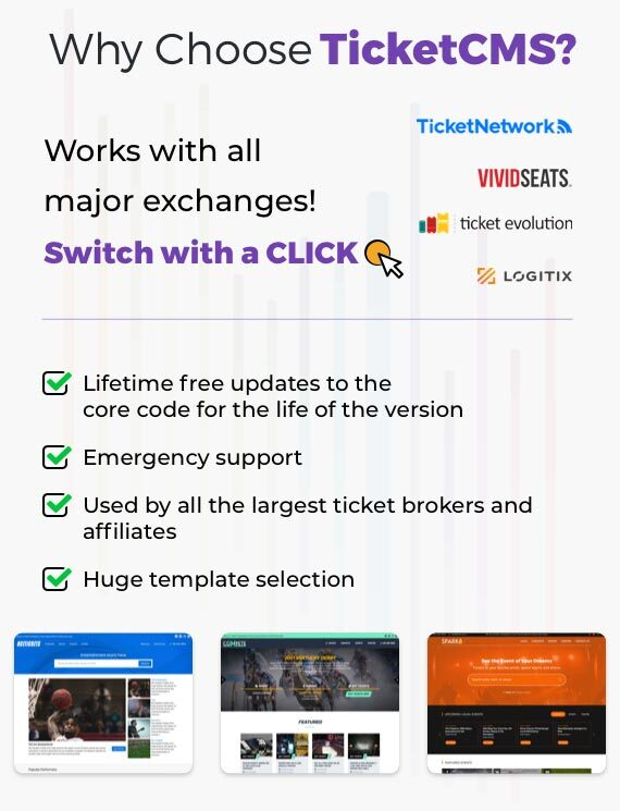 Why Choose ticketCMS